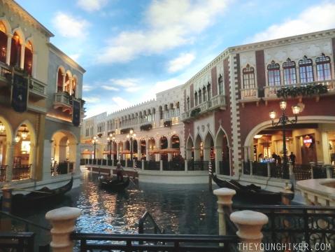 """El cielo falso en el hotel """"The Venetian"""""""