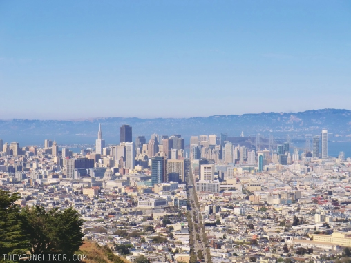 Vistas de San Francisco desde Twin Peaks