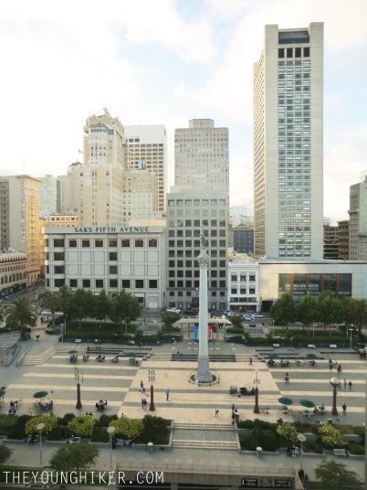 Union Square desde lo alto de Macy's