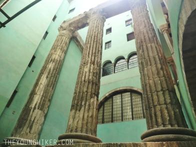 Columnas romanas del Templo de Augusto