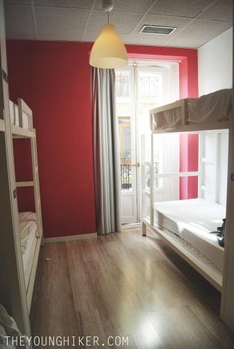 Habitación para 6 en U Hostel