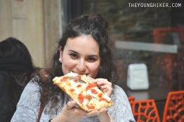 Pizza por 3 euros + yo en la gloria