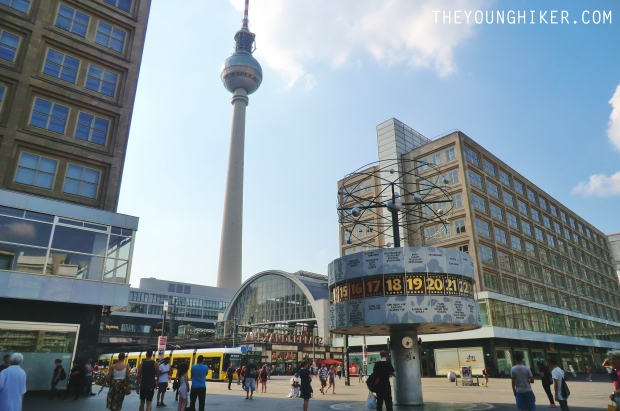 Alexanderplatz y Television Tower