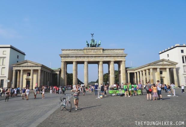 Puerta de Brandenburgo (Plaza París)
